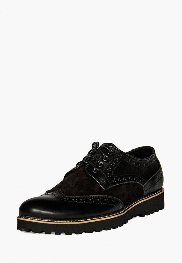 мужские туфли handys, черные