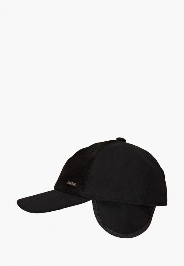 мужская кепка finn flare, черная