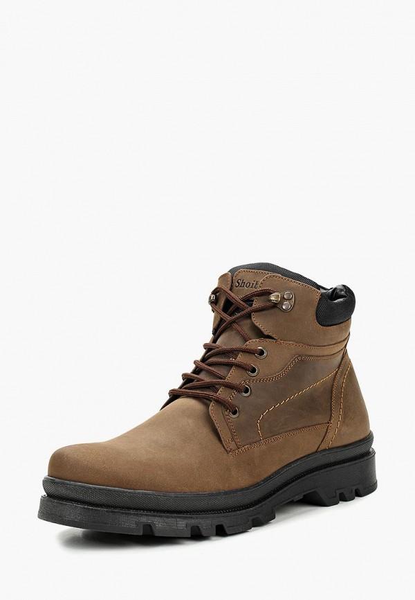 мужские ботинки shoiberg, коричневые