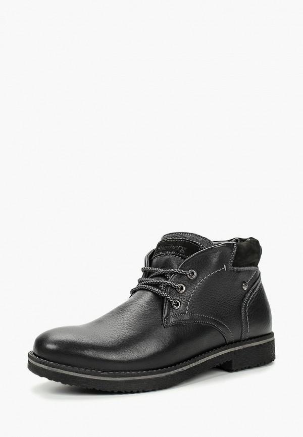 Купить Ботинки Shoiberg, mp002xm23y51, черный, Осень-зима 2017/2018