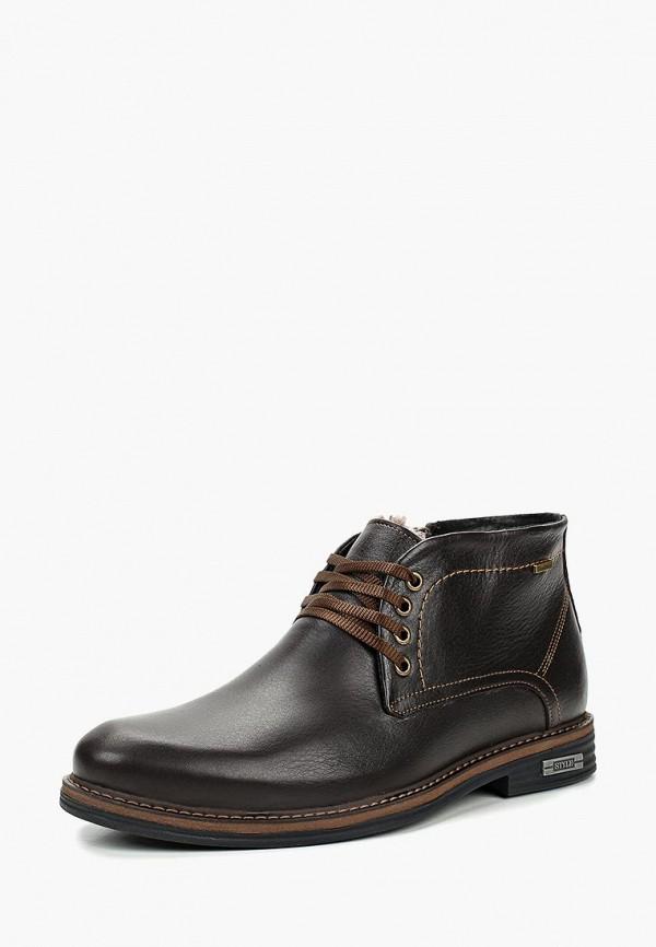 Купить Ботинки Shoiberg, mp002xm23y5t, коричневый, Осень-зима 2017/2018