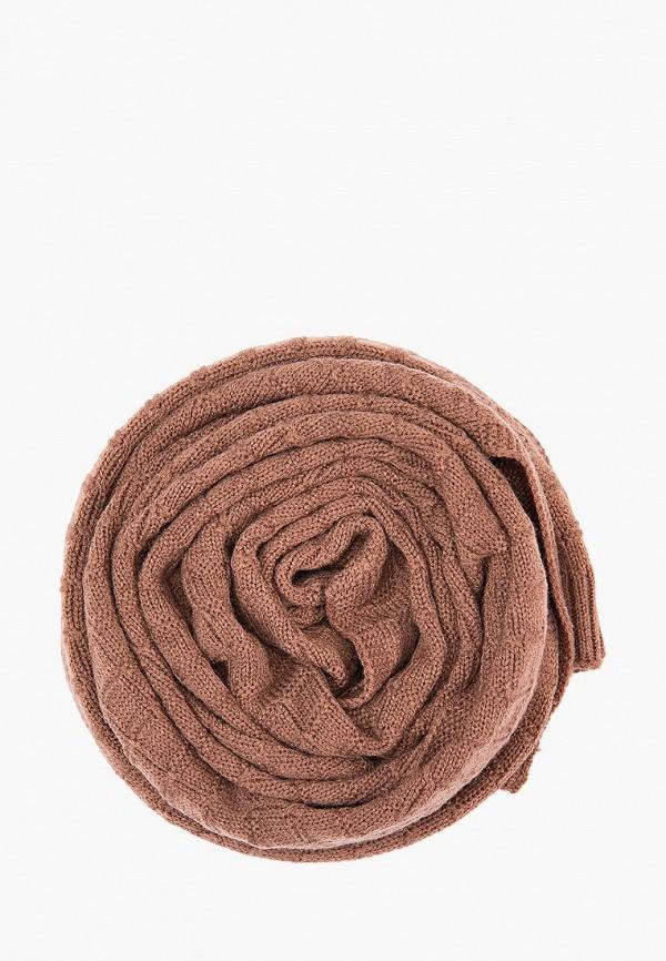 Шарф  коричневый цвета