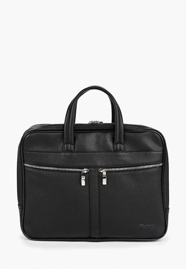 мужская сумка с ручками baron, черная