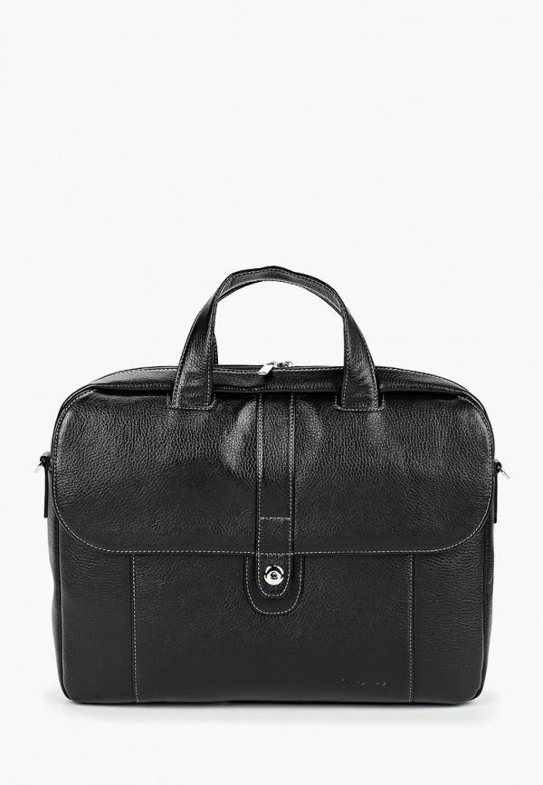 мужская сумка baron, черная