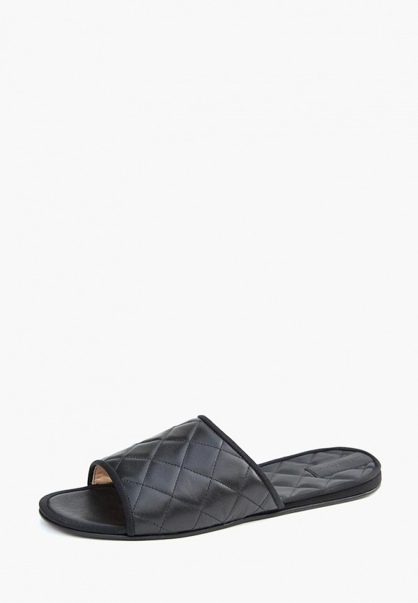 мужские тапочки lovely slippers, черные