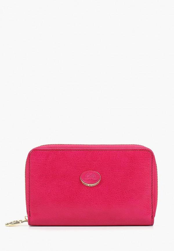 мужской кошелёк tony perotti, розовый