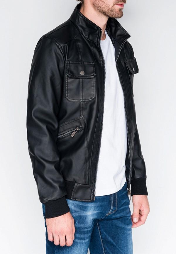 Купить Куртка кожаная Ombre, mp002xm23ynh, черный, Осень-зима 2018/2019