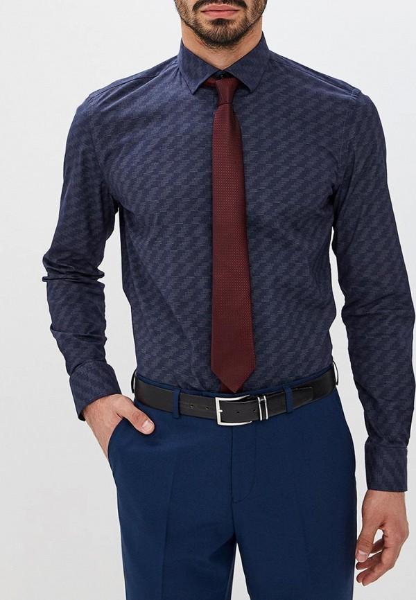 Купить Рубашка Bawer, Regular Fit (Полуприталенная), mp002xm23yt5, синий, Весна-лето 2018