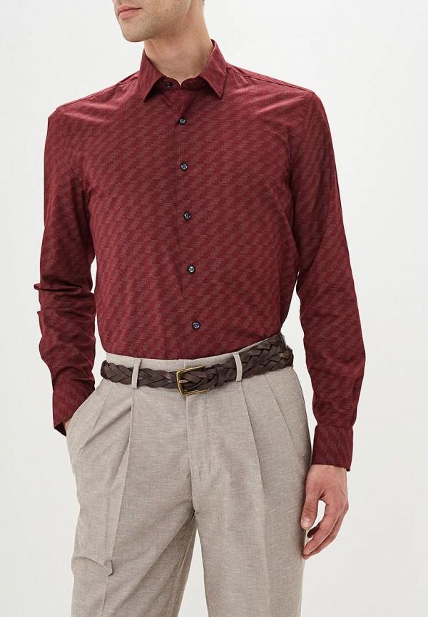 Купить Рубашка Bawer, Regular Fit (Полуприталенная), mp002xm23ytr, бордовый, Весна-лето 2018