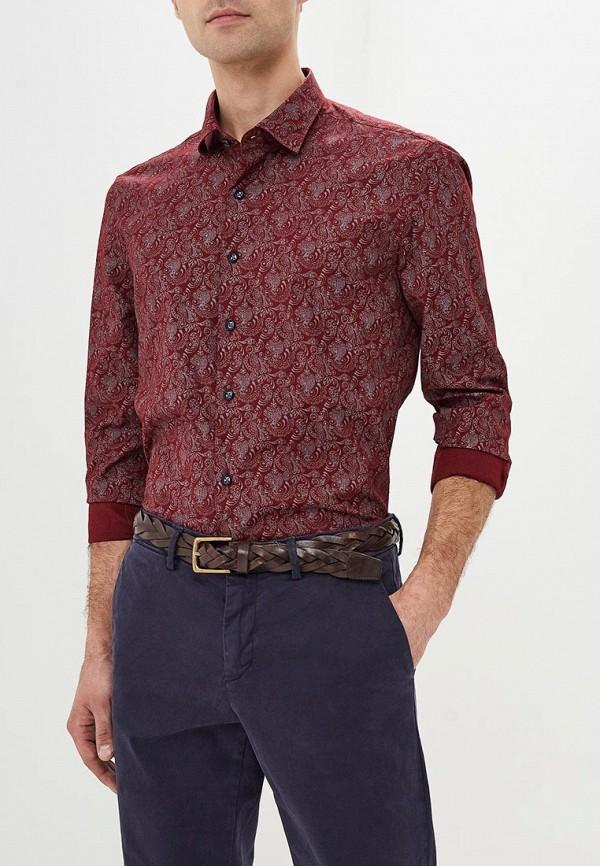 Купить Рубашка Bawer, Regular Fit (Полуприталенная), mp002xm23yty, бордовый, Весна-лето 2018