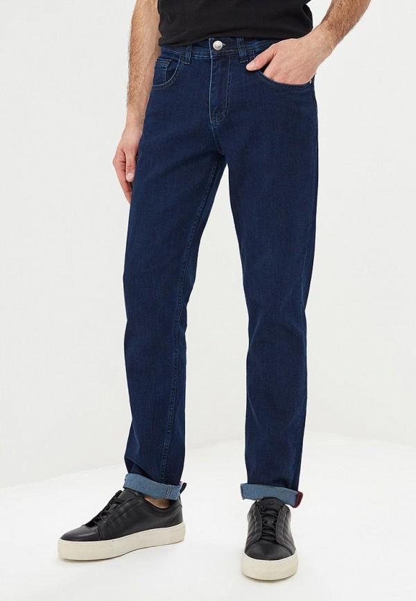 мужские зауженные джинсы bawer, синие