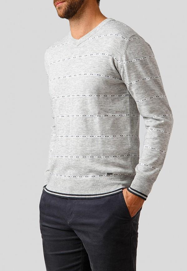 Пуловер  серый цвета