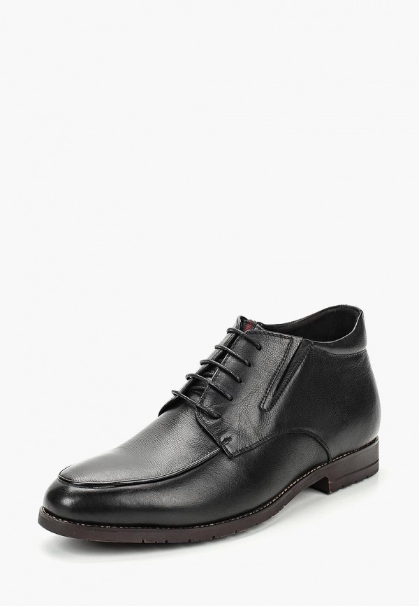 мужские ботинки dino ricci select, черные