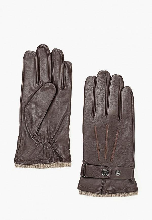 мужские перчатки eleganzza, коричневые