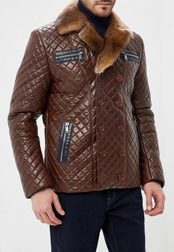 Купить Куртка кожаная Meridian, mp002xm23z9p, коричневый, Осень-зима 2018/2019