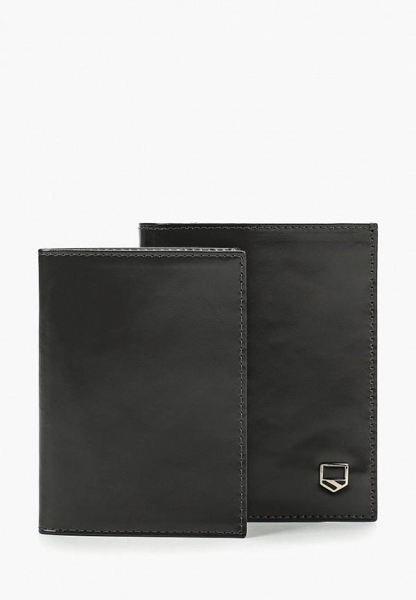 мужской кошелёк franchesco mariscotti, серый
