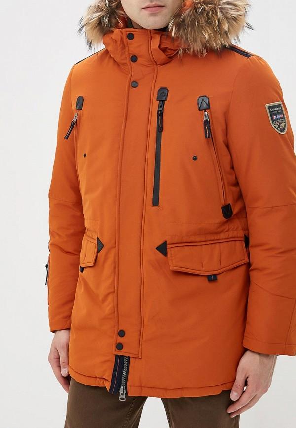 мужская парка snowimage, оранжевая