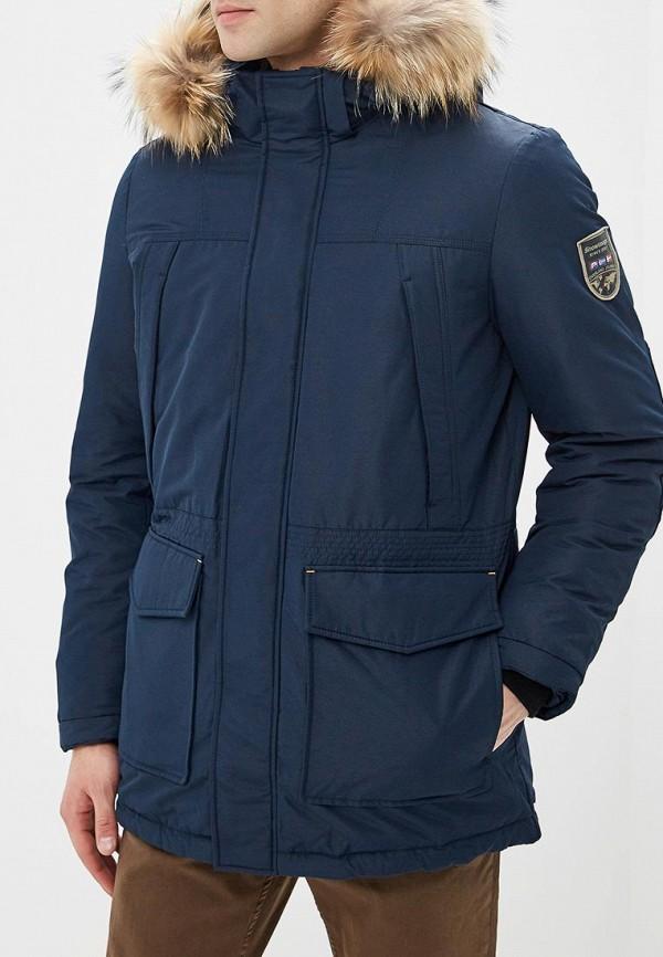 мужской пуховик snowimage, синий