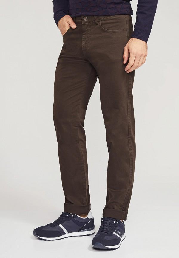мужские прямые брюки mossmore, коричневые