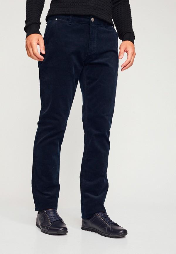 мужские прямые брюки mossmore, синие