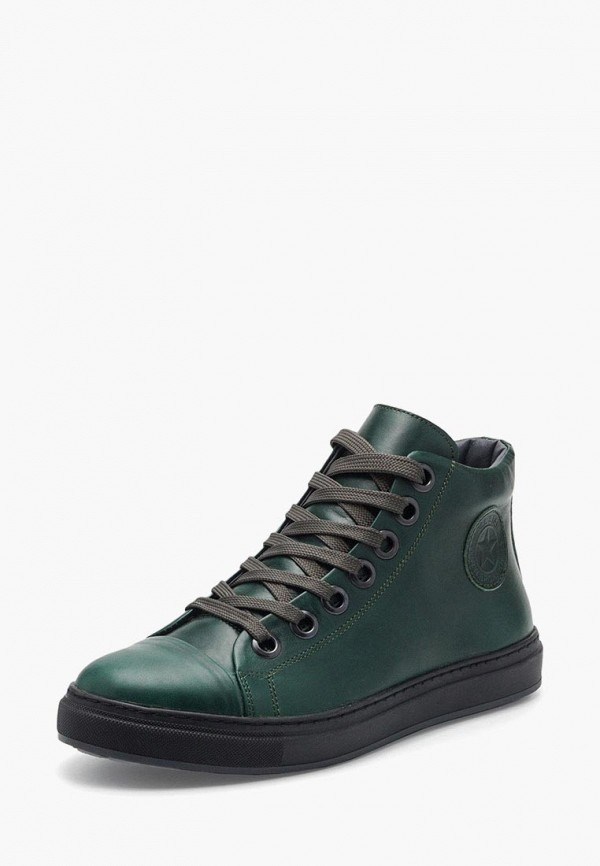 мужские ботинки broni, зеленые