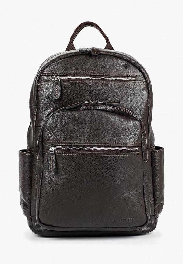 мужской рюкзак franchesco mariscotti, коричневый