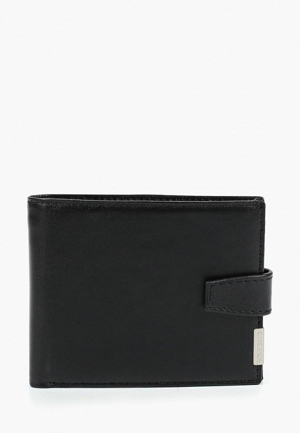 мужской кошелёк franchesco mariscotti, черный