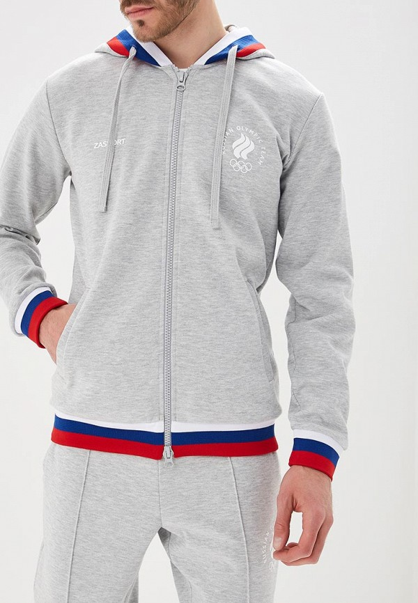 Купить Толстовка Zasport, mp002xm2403m, серый, Осень-зима 2018/2019