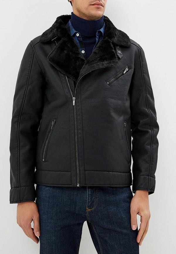 Куртка кожаная Top Secret Top Secret MP002XM24070 black choker sleeveless crop top