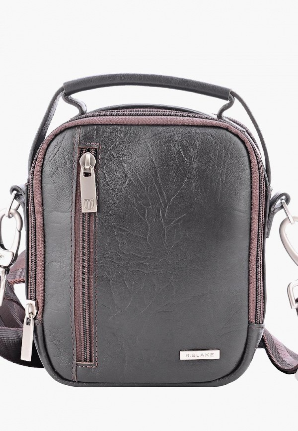 мужская сумка r.blake collection for men, коричневая