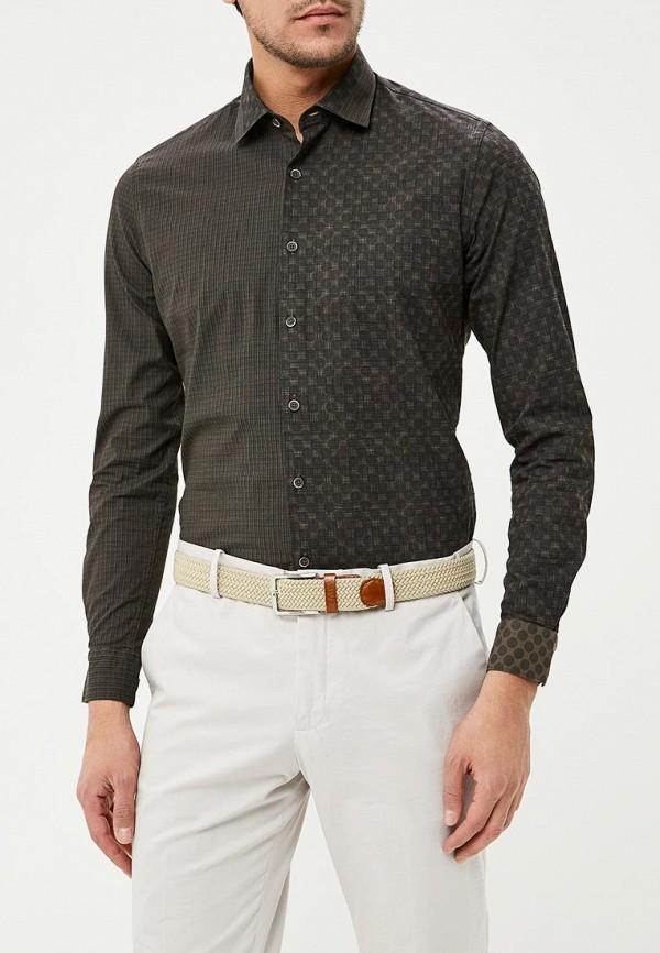 мужская рубашка с длинным рукавом bawer, хаки