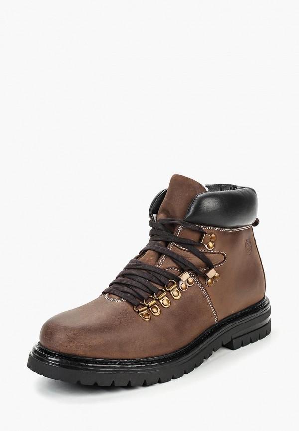 мужские высокие ботинки airbox, коричневые
