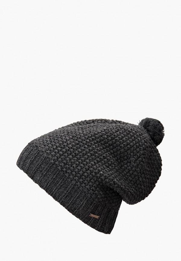 мужская шапка finn flare, серая