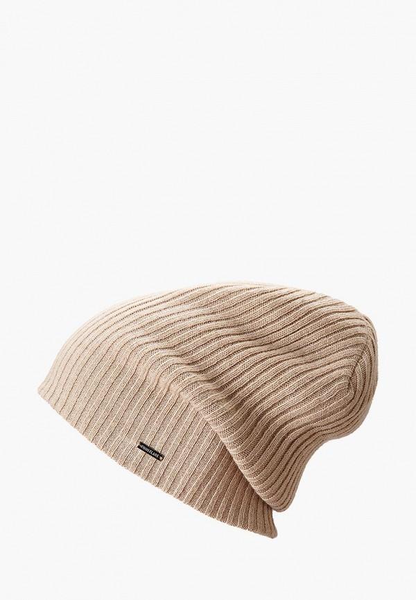 мужская шапка finn flare, бежевая