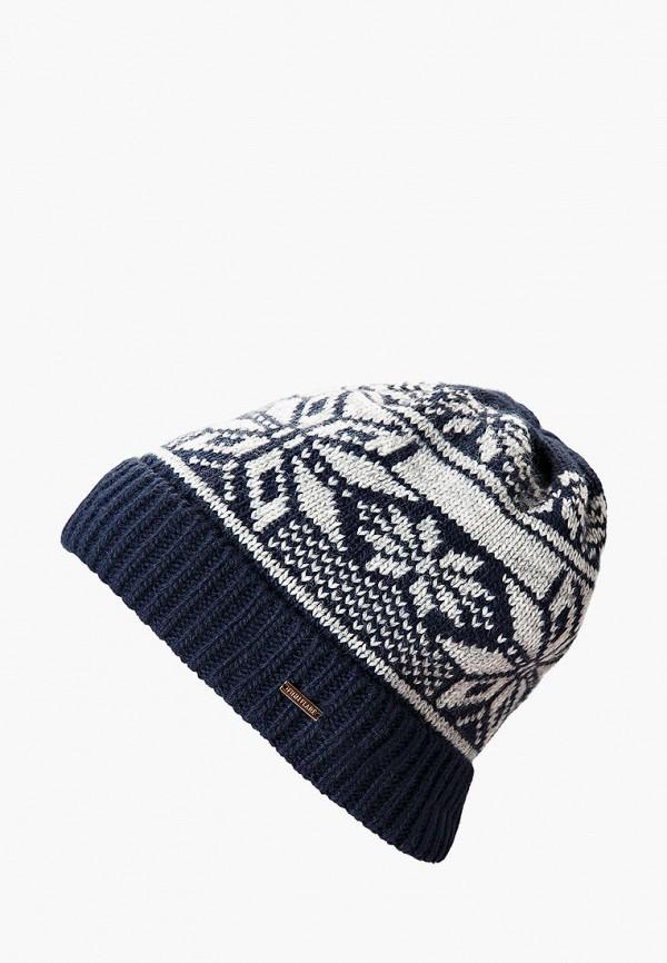 мужская шапка finn flare, синяя