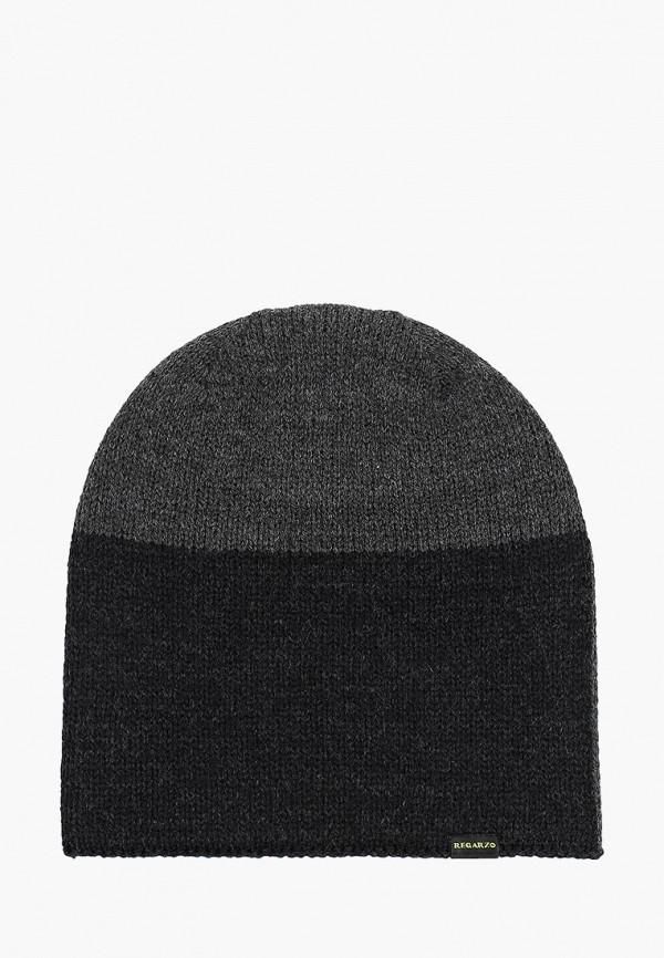 мужская шапка regarzo, серая