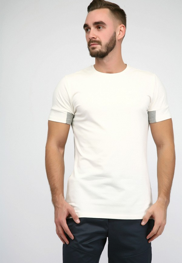 мужская футболка hummel, белая