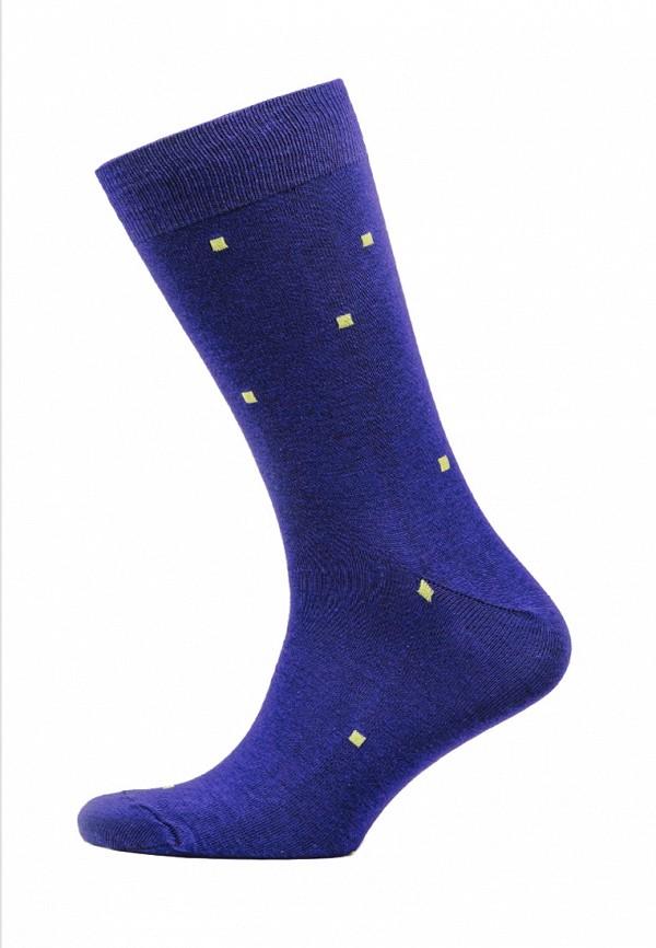 мужские носки marrey, фиолетовые