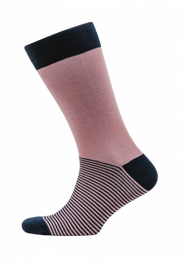мужские носки marrey, розовые