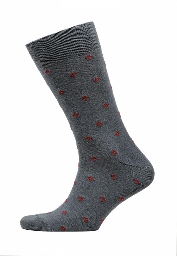 мужские носки marrey, серые