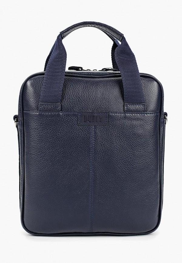 мужская сумка duffy, синяя