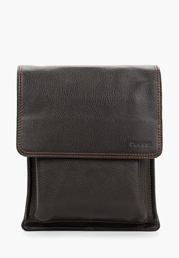 мужская сумка duffy, коричневая