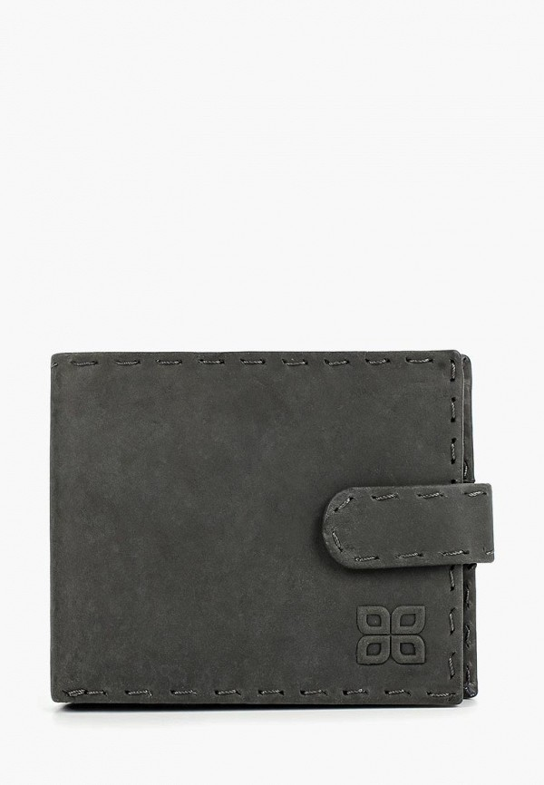 мужской кошелёк bouletta, серый