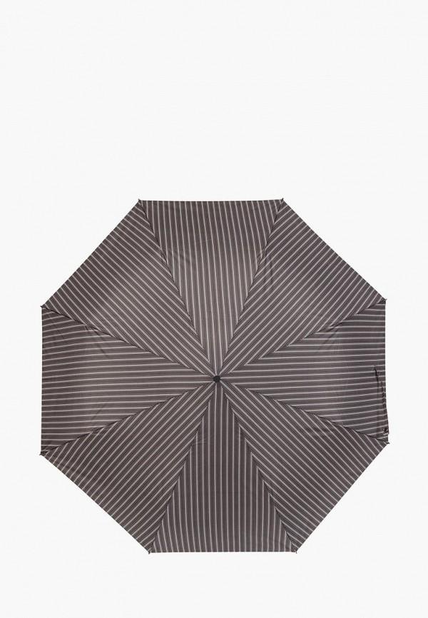 мужской зонт eleganzza, серый