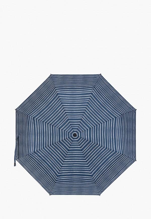 мужской зонт eleganzza, синий