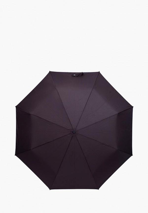 мужской зонт eleganzza, коричневый