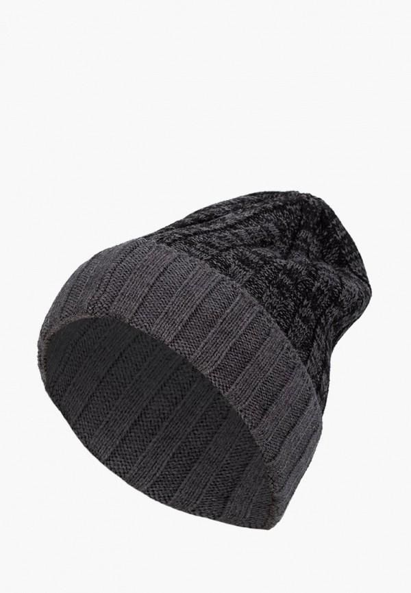 мужская шапка labbra, серая