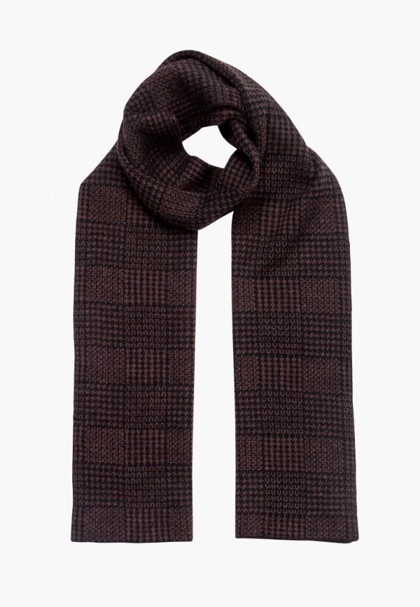 мужской шарф eleganzza, коричневый