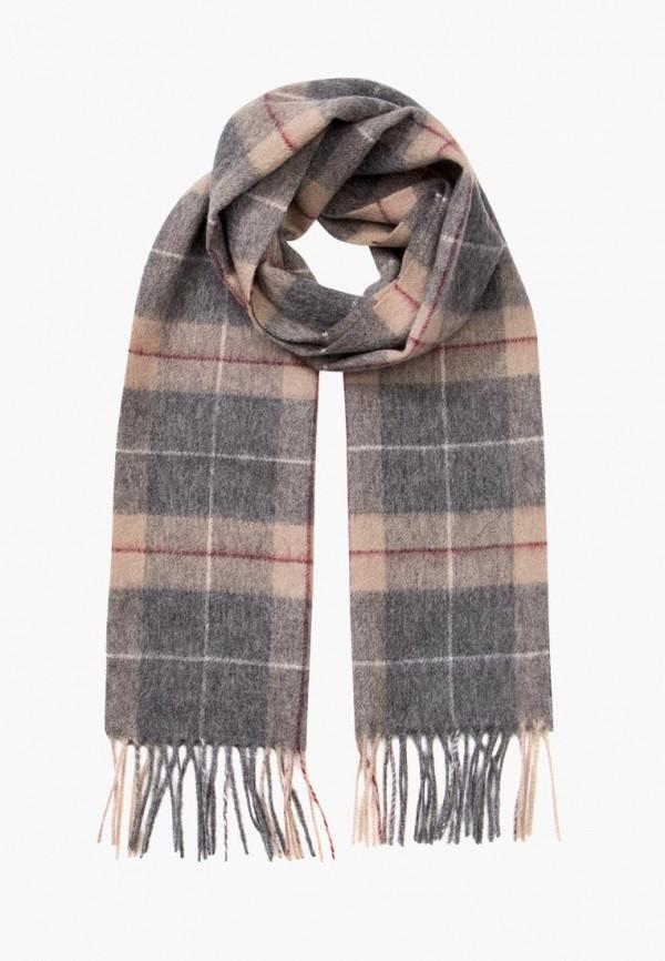 мужской шарф labbra, серый