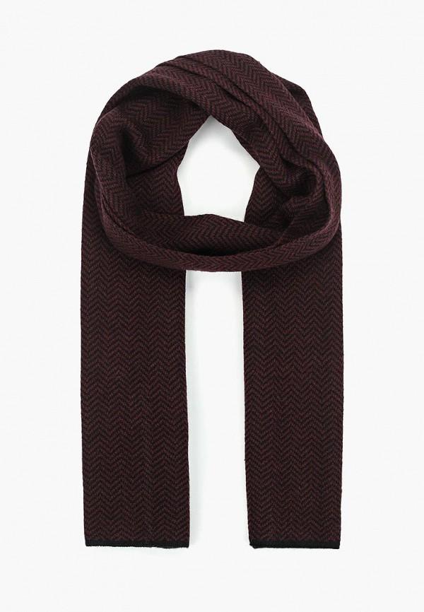 мужской шарф eleganzza, бордовый